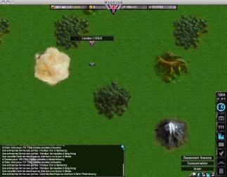 Mankind - Capture d'écran version alpha
