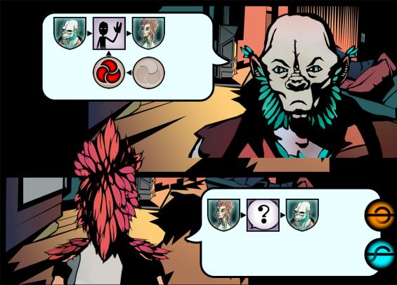 Le jeu étant encore en production, ceci est une capture d'écran d'une version de travail